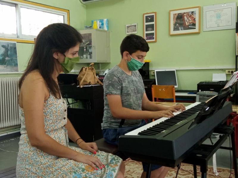 Εξετάσεις 2021 στο Μουσικό Εργαστήρι Λήμνου