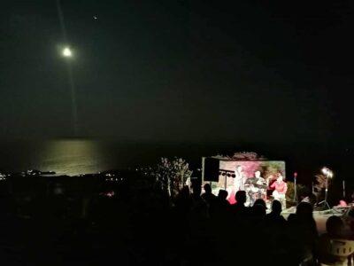 Συναυλία Σαβίνας Γιαννάτου & Κώστα Γρηγορέα στην Ακρόπολη του Αγίου Ανδρέα