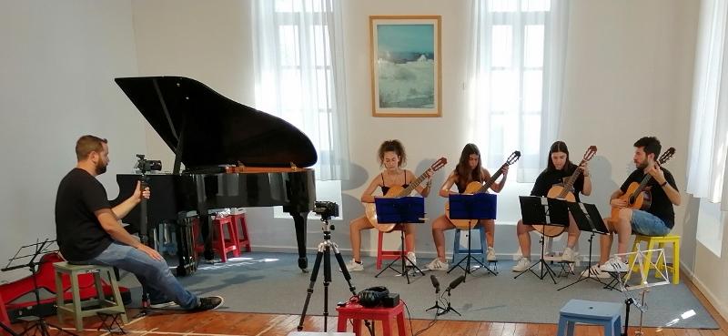 Θερινή κιθαριστική εβδομάδα Μουσικού Εργαστηρίου Σίφνου